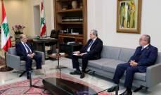 الرئيس عون تسلّم من مستشار رئيس الكتائب وأمين عام الحزب النعي بوفاة جوزيف أبو خليل