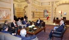 الحريري استقبل وزير خارجية المالديف ورئيس مجلس إيدال وشخصيات أخرى