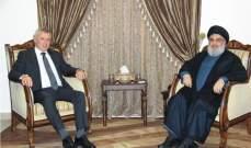 لقاءات السيد نصرالله: الهمّ الإقتصادي أولاً