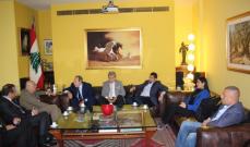 أبو سعيد بحث مع لحود بقرارات المحكمة الجنائية الدولية