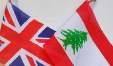 متحدث باسم سفارة بريطانيا:سنشارك بالمؤتمر الثاني لماكرون حول لبنان بـ2 كانون الأول
