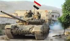 النشرة: الجيش السوري يستهدف مسلحي داعش الفارين بمحيط دير الزور