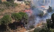 النشرة: إندلاع حريق في أحد أحراج بلدة كفرشيما