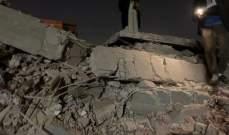 سكاي نيوز: ارتفاع عدد الوفيات في انهيار عقار سكني بالقاهرة إلى 7