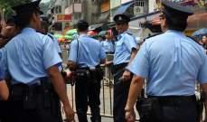 شرطة هونغ كونغ تفتح النار وتصيب محتجا وسط انتشار الفوضى