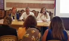 ندوة في بلدية دير عمار عن الإدارة المتكاملة للنفايات