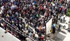 النشرة: أهالي المحكومين الإسلاميين نظموا اعتصاما للمطالبة بالعفو العامل الشامل