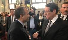 باسيل شارك في قداس مار مارون في قبرص والتقى الجالية اللبنانية