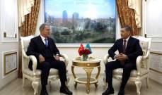 وزير الدفاع التركي: استمرار التعاون بمجالي التدريب العسكري والصناعات الدفاعية مع كازاخستان