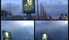 انتشار صور لسليماني على طريق المطار