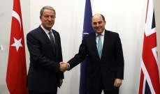 وزيرا الدفاع في تركيا وأميركا بحثا هاتفيا بالوضع في إدلب وقضايا الأمن