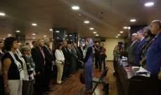 """دبور استقبل لجنة """"كي لا ننسى صبرا وشاتيلا"""" في سفارة فلسطين"""