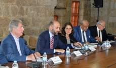 كارلين: اللاجئون سيبقون في لبنان بالسنوات المقبلة ما سيشكل ثقلا اقتصاديا واجتماعيا وامنيا