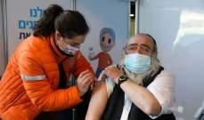 السلطات الإسرائيلية تبحث تطعيم مواطنيها بجرعة ثالثة من لقاحات