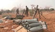 المرصد السوري: قوات النظام السوري استهدفت بأكثر من 130 قذيفة صاروخية ومدفعية بلدات وقرى جنوبي إدلب