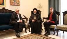 بومبيو التقى عودة وعرضا التطورات في لبنان والمنطفة