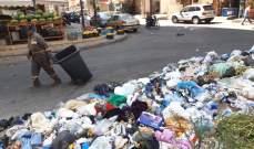 النشرة: عمال معمل فرز النفايات الصلبة في سينيق علقوا اضرابهم
