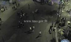 التحكم المروري: قطع الطريق على ساحة ساسين - الاشرفية
