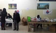 الهيئة الصحية اقامت يوما صحيا مجانيا في المخيمات الفلسطينية