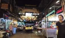 النشرة: الاسواق في العاصمة السورية تشهد حركة كثيفة خلال شهر رمضان