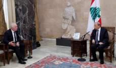 ميشال ضاهر سمّى الحريريلتشكيل الحكومة:هذا ليس وقت النكد السياسي