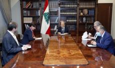 ماكرون لعون: نقف الى جانب لبنان رئيسا وحكومة وشعبا وسنساعد بكل المجالات