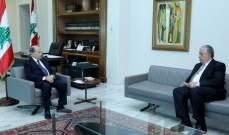 الرئيس عون يلتقي النائب سمير الجسر عن كتلة المستقبل