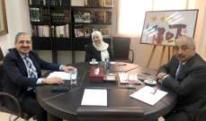 الحريري عرضت لأوضاع الجامعة اللبنانية مع أيوب والحجار