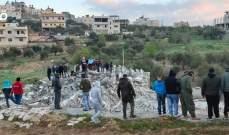 الجيش الإسرائيلي هدم منزل فلسطيني في كوبر متهم بقتل جندي إسرائيلي
