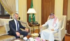 افيوني التقى بخاري وعرض معه المستجدات في لبنان والمنطقة
