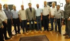 النشرة: محافظ النبطية اشرف على انتخاب رئيس بلدية زفتا الجديد