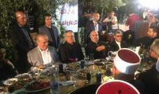 ذبيان بإفطار صرخة وطن: الفئة الحاكمة مطالبة بتحقيق آمال شبابنا