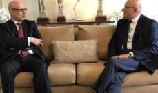 سلام عرض مع سفير المغرب الاوضاع الراهنة والعلاقات الثنائية بين البلدين