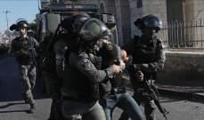الجيش الإسرائيلي اعتقل 18 فلسطينيا بالضفة الغربية بينهم قيادي في حماس