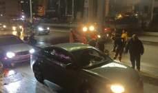 الدفاع المدني: إخماد حريق سيارة ببعلبك وتأمين السلامة على أوتوتستراد المدينة الرياضية اثر تسرب زيوت