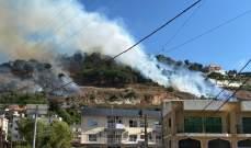 النشرة: الدفاع المدني سيطر على النيران التي اندلعت في أحراج الشقيف والدبشة وعلي الطاهر