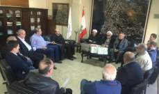 رئيس بلدية الشويفات التقى وفداً من مجمع دوحة المبرات التربوي