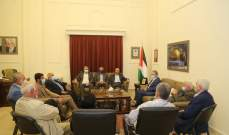 دبور وأبو العردات استقبلا عبد الهادي: للمواجهة بموقف فلسطيني موحد