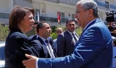حفل توقيع بروتوكول تعاون بين بلديتي الحازمية- جبل لبنان والحازمية- الضنية