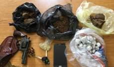 قوى الامن: توقيف مروج مخدرات ينشط في محلة الاوزاعي