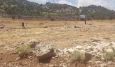 النشرة: قوة اسرائيلية مشطت الطريق العسكري بمحاذاة السياج الحدودي