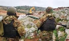 النشرة: الجيش الاسرائيلي يستأنف أعمال الحفر بحثا عن انفاق في ميس الجبل