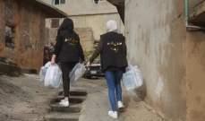 """""""سنابل الخير"""" تنظم حملة تبرع بالملابس في بلدة شبعا وقرى العرقوب المجاورة"""