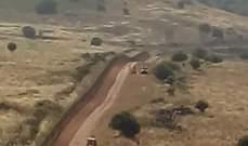 الجيش الإسرائيلي يطلق 3 قنابل مضيئة فوق الغجر