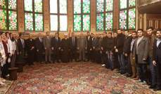 دريان التقى وفدامن المجمع الأعلى للطائفة الإنجيلية في سورياولبنان