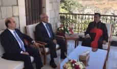 سليمان التقى الراعي: لبنان لن يزدهر دون حصر السلاح بيد الدولة