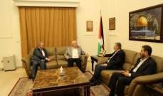 العالول يلتقي نائب الامين العام لحركة الجهاد الاسلامي