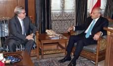 بري التقى بوصعب والسفير المكسيكي وإدارة الريجي