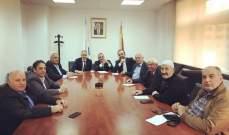 اجتماع بين رئيس مجلس إدارة ايدال ورؤساء بلديات العرقوب للتعرف على خدمات الشركة
