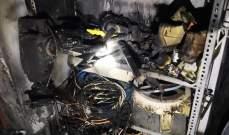 الدفاع المدني: حريق داخل منزل في القبيات والأضرار مادية